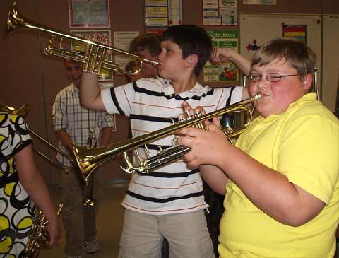 Onekama Elementary School Band Concert May 12, 2009