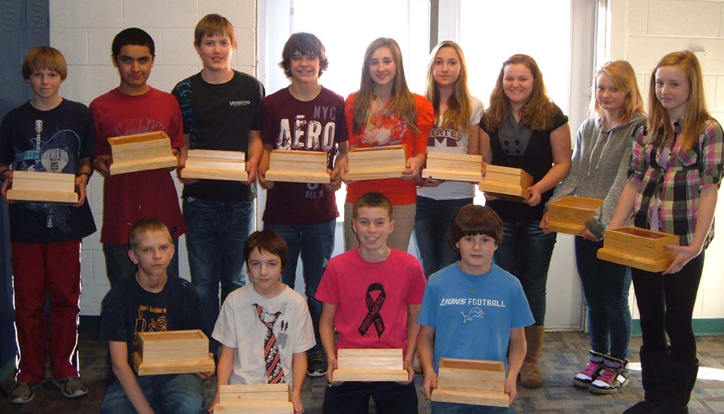 7th Grade Wood Projects mr Toelle's 7th Grade Wood
