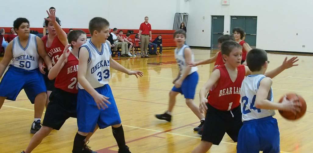 Onekama Middle School Sports 2012-2013