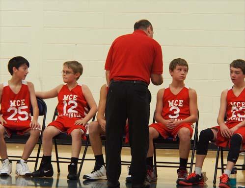 Onekama Middle School Boys Basketball 2013